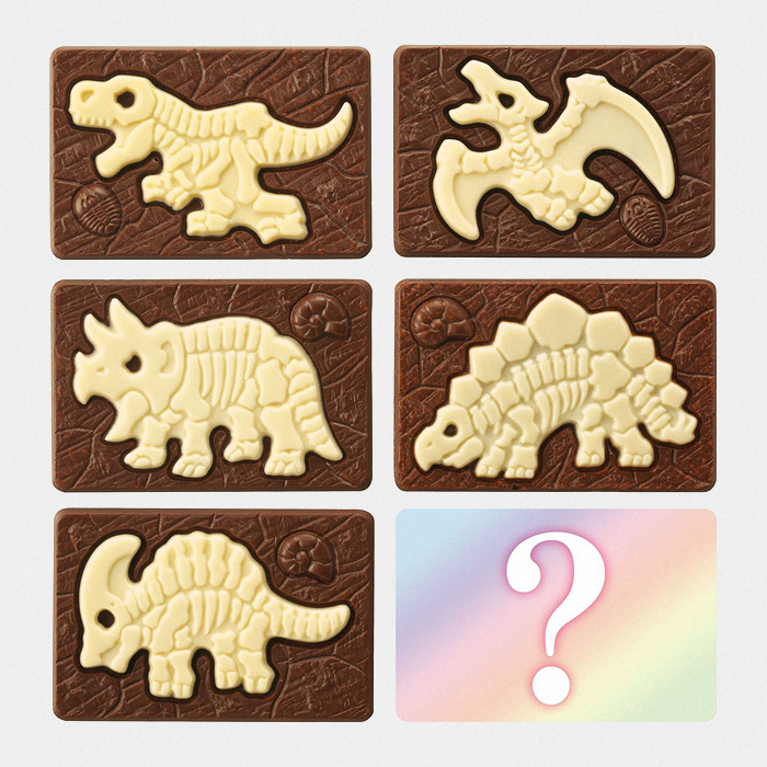 Chocolate Dinosaur Excavation set