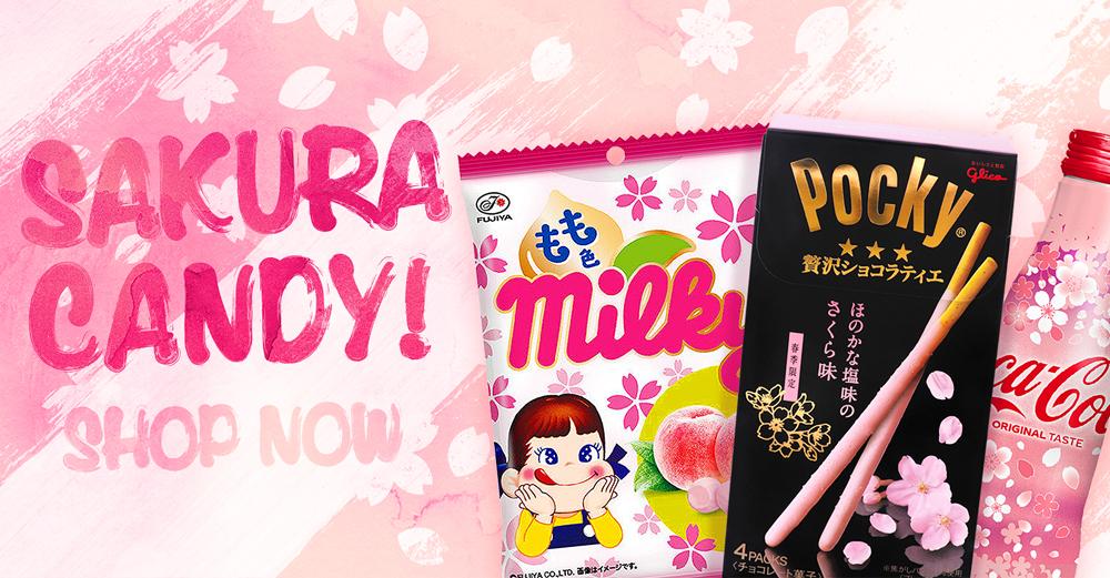 Sakura snacks