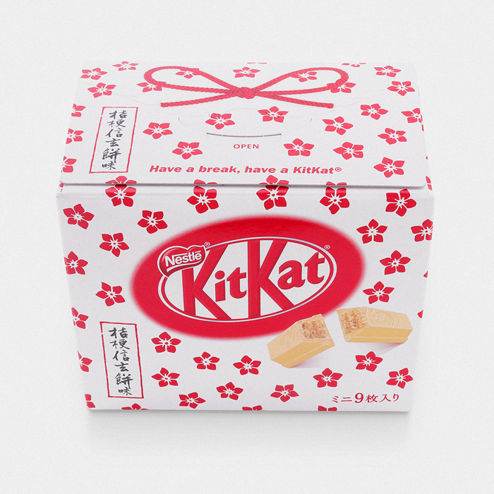 Bellflower Shingen Mochi Kit Kat