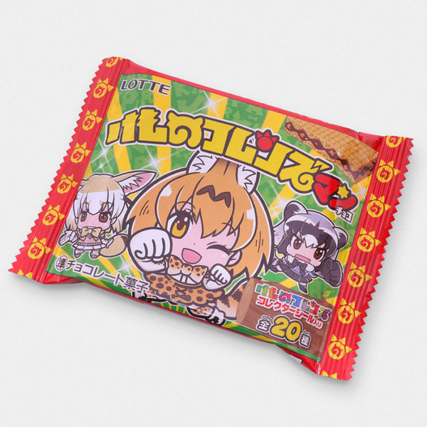 Kemono Friends Bikkuriman Cookie