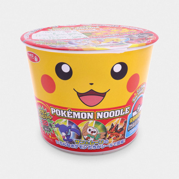Pokémon Ramen Noodles - Soy Sauce