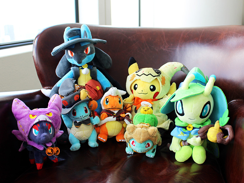Pokémon Center Halloween 2019 Plushies