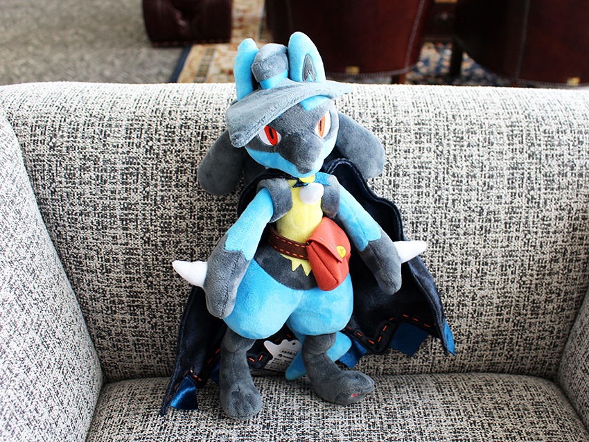 Pokémon Halloween 2019 Lucario Plush