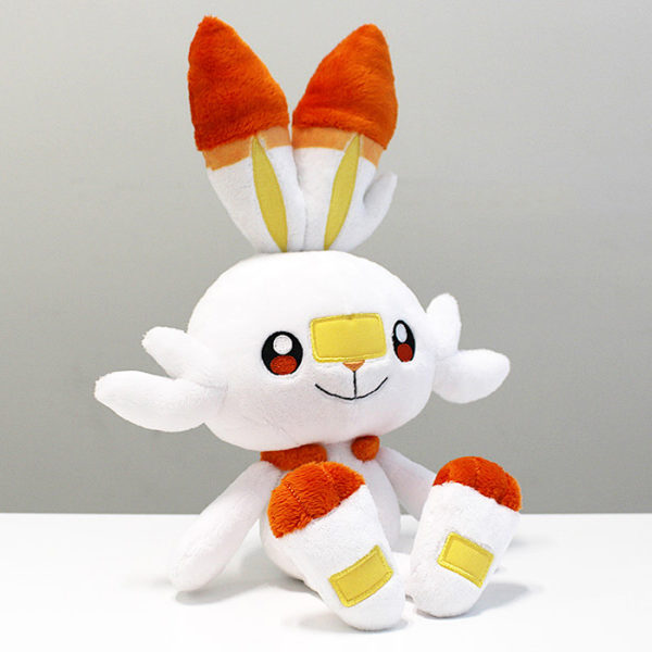 Pokémon Sword & Shield Scorbunny Plush