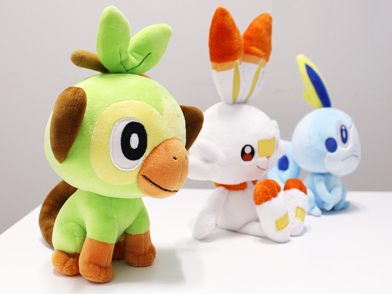 Pokémon Sword & Shield Plushies