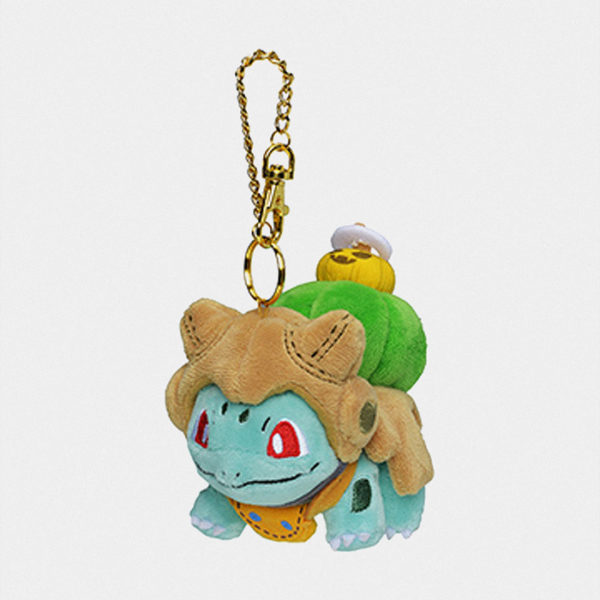 Pokémon Halloween 2019 Bulbasaur Keychain Plush マスコット フシギダネ