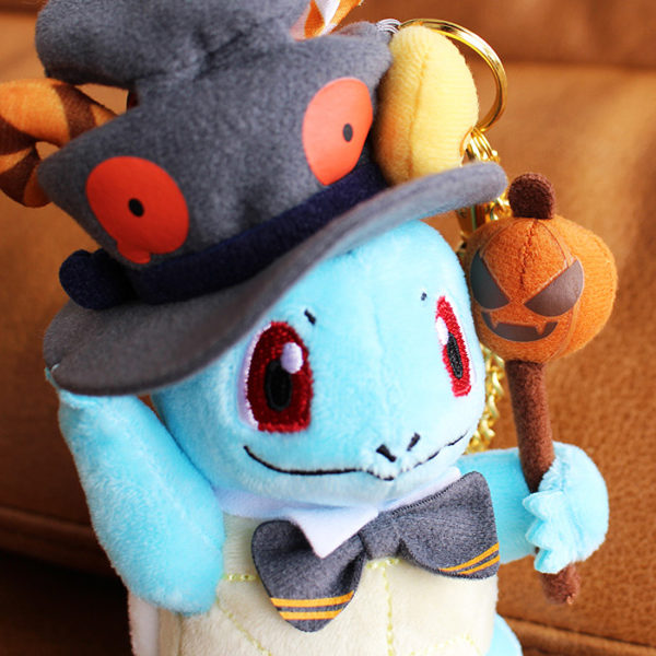 Pokémon Halloween 2019 Squrtle Keychain Plush