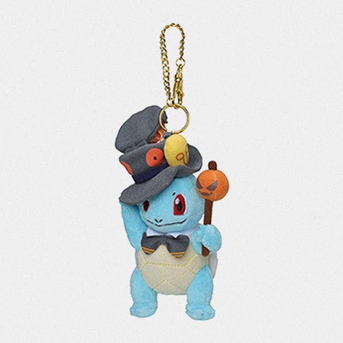 Pokémon Halloween 2019 Squrtle Keychain Plush マスコット ゼニガメ
