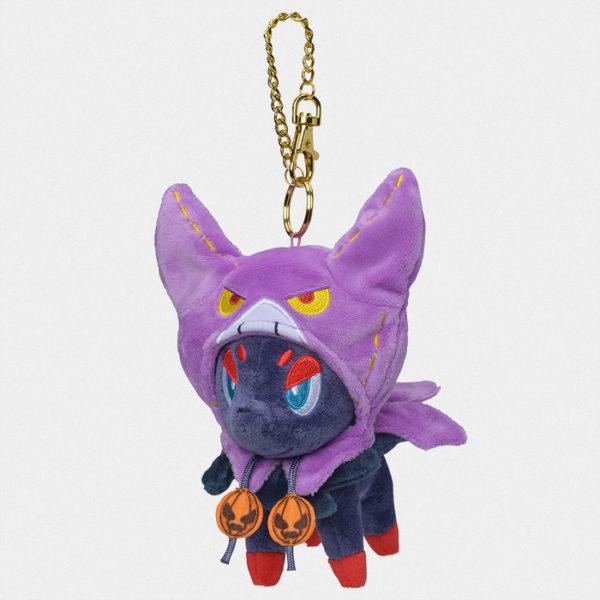 Pokémon Halloween 2019 Zorua Keychain Plush