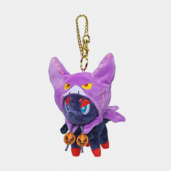 Pokémon Halloween 2019 Zorua Keychain Plush マスコット ゾロア
