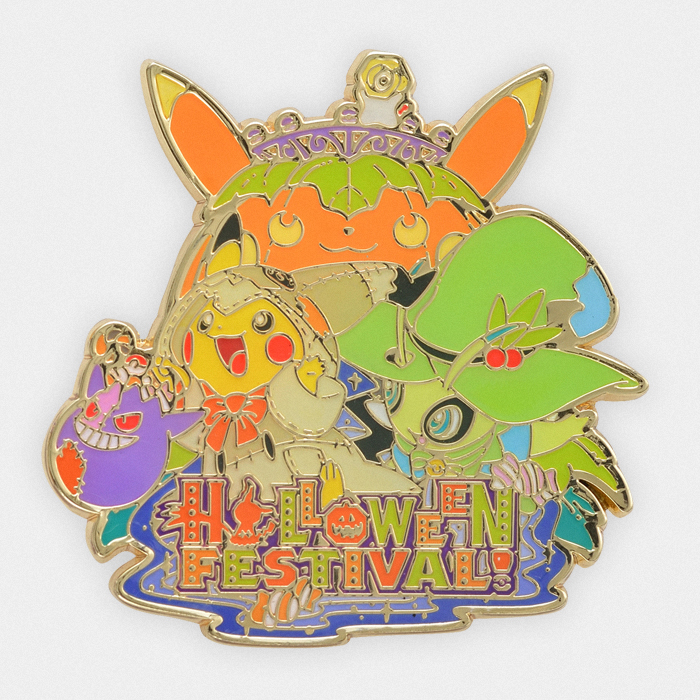 Pokémon Halloween 2019 Metal Pin