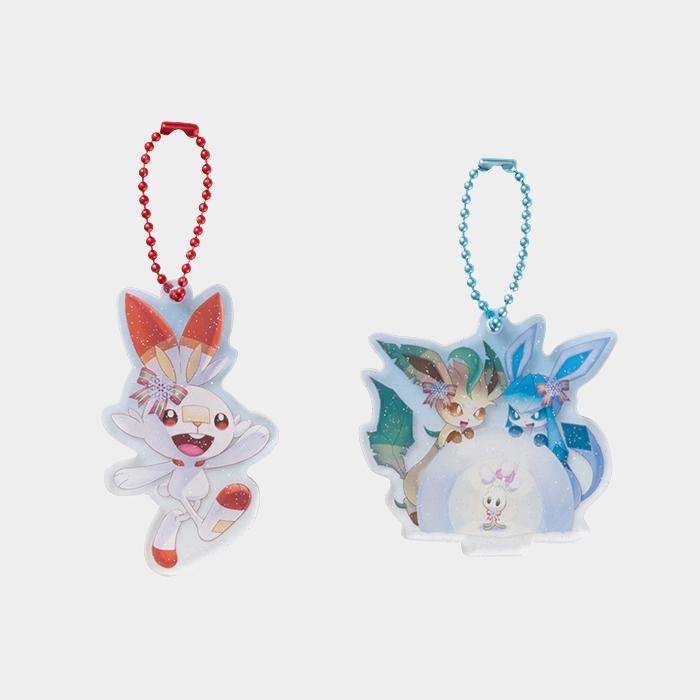 Pokémon Christmas 2019 Acrylic Charm