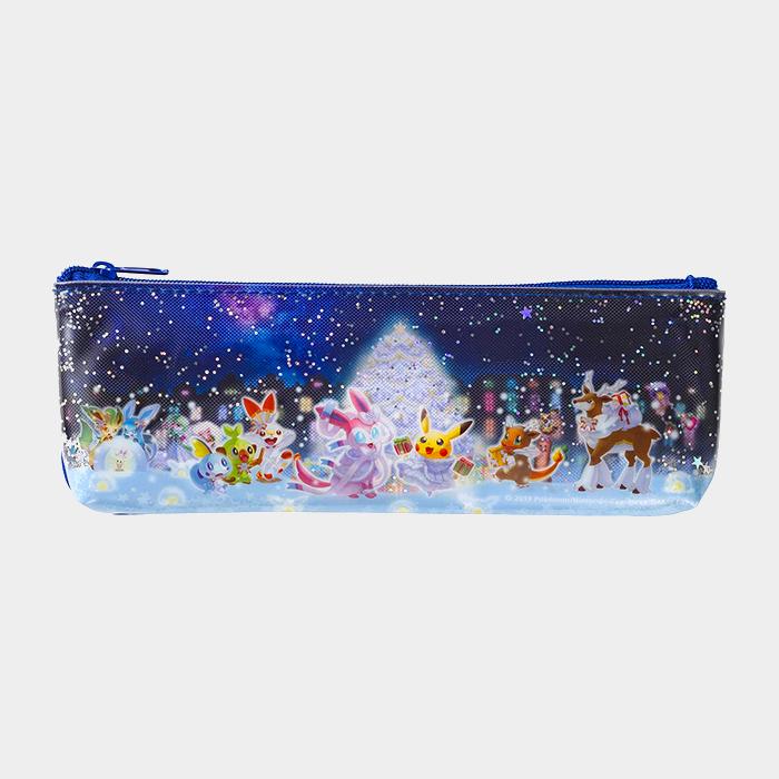 Pokémon Christmas 2019 Glittery Pencil Case