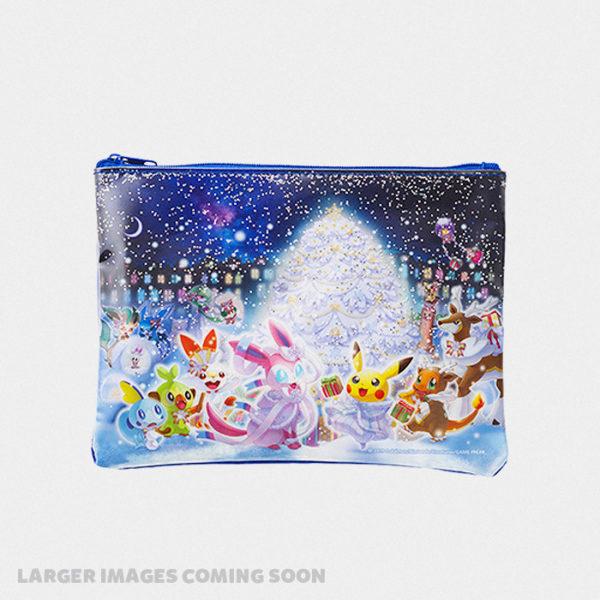 Pokémon Christmas 2019 Glittery Zip Pouch