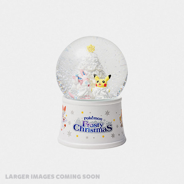 Pokémon Christmas 2019 Snow Globe