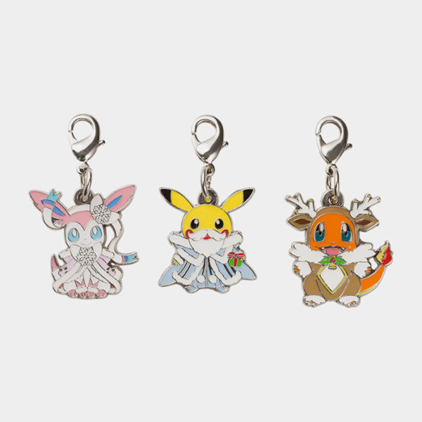 Pokémon Christmas 2019 Charm Set