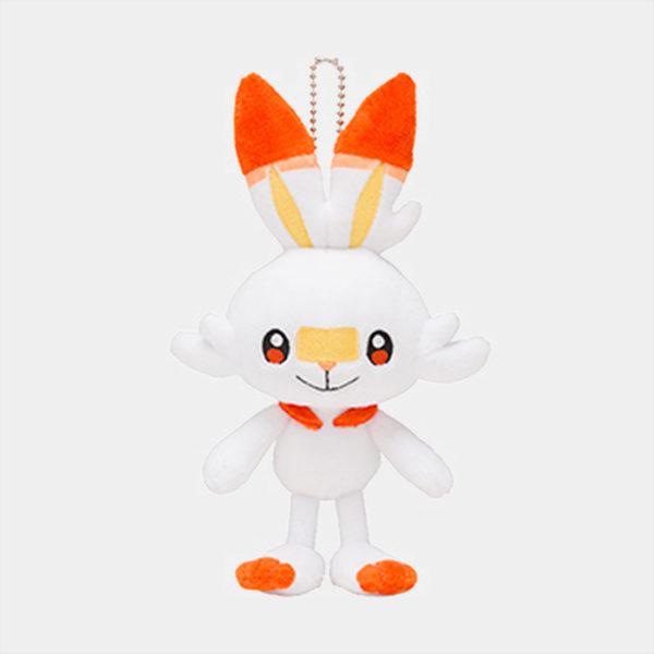 Pokémon Scorbunny Keychain Plush