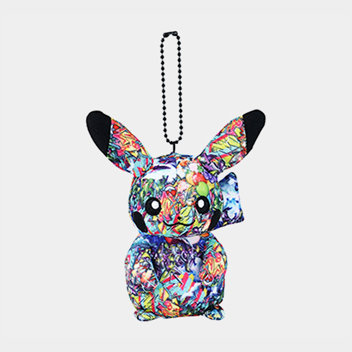 Pokémon Shibuya Graffiti Art Pikachu Keychain Plush