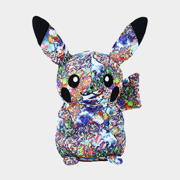 Pokémon Shibuya Graffiti Art Pikachu Plush