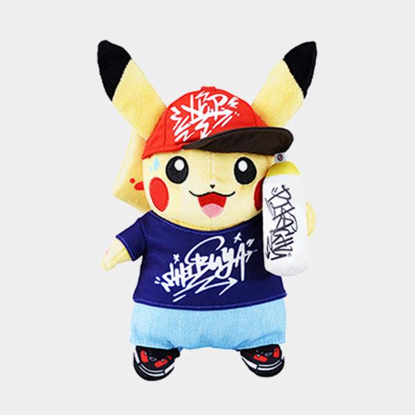 Pokémon Shibuya Graffiti Artist Pikachu Plush