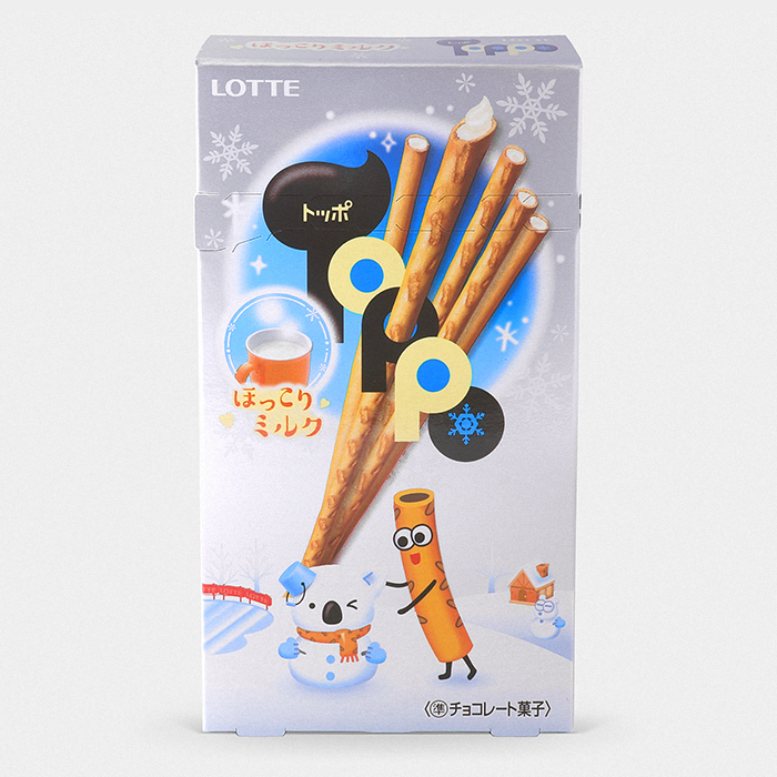Toppo Cookie Sticks - Hokkori White Milk Chocolate