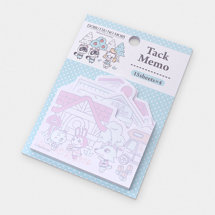 Animal Crossing Sticky Memo Note Set