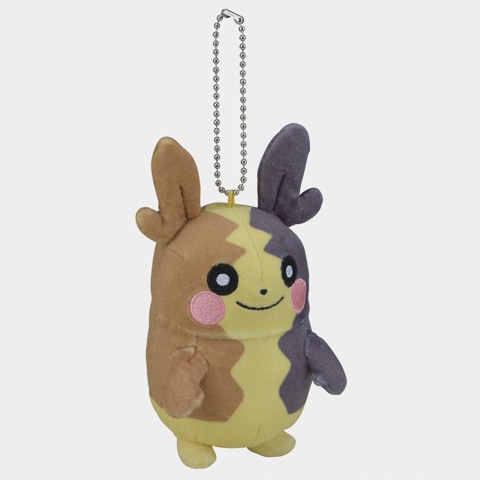 Pokémon Center Sword and Shield Morpeko Keychain Plush