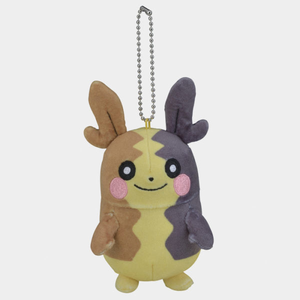 Pokémon Center Sword and Shield Morpeko Keychain Plush