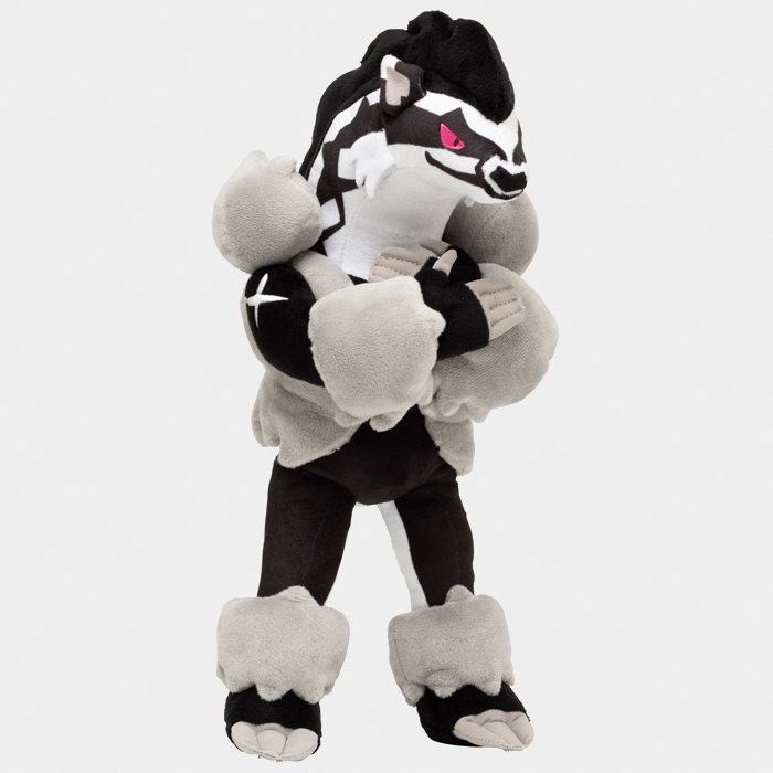 Pokémon Center Sword and Shield Obstagoon Plushie