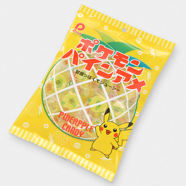 Pokémon Pikachu Pineapple Candy