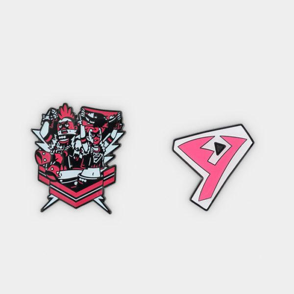 Pokémon Center #GOGO!YELL!! Team Yell Pin Set