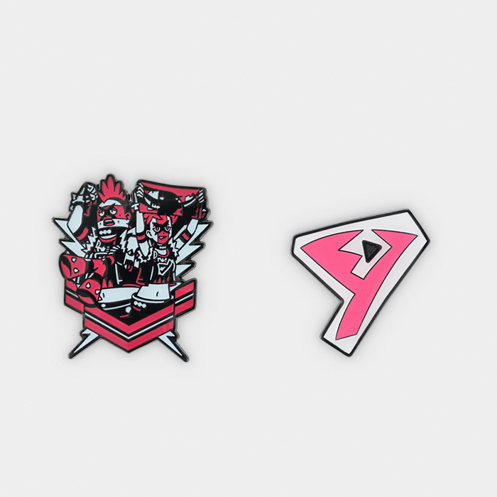 Pokémon Center #GOGO!YELL!! Team Yell Pin Set