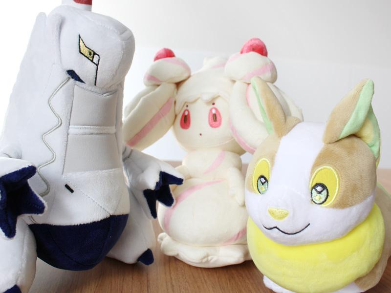 Pokémon Center Yamper, Alcremie & Duraludon Plushies