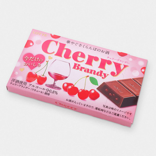 Lotte Cherry Brandy Japanese Chocolate
