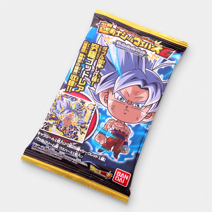 Dragon Ball Super Wafer Cookie