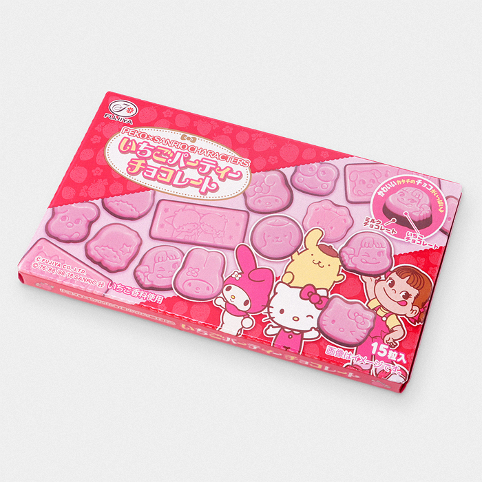 Strawberry Party Chocolate - Peko x Sanrio