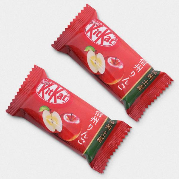 Shinshu Apple Kit Kat - 2 Bar Set