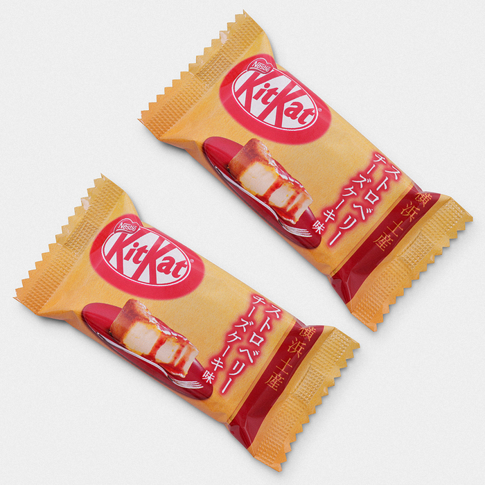 Strawberry Cheesecake Kit Kat - 2 Bar Set