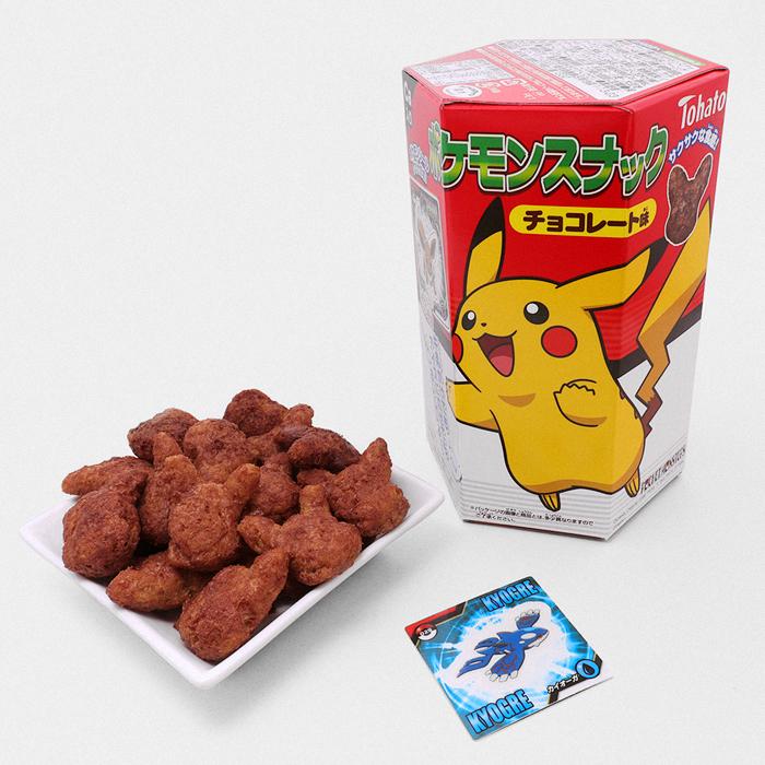Pokémon Chocolate Corn Chips