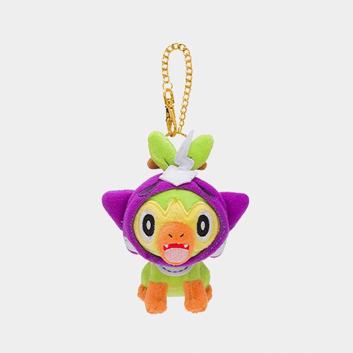 Something At End Of Halloween 2020 Pokémon Halloween 2020 Grookey Keychain Plush | Something Japanese