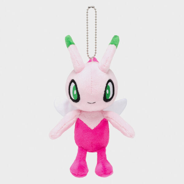 Pokémon Movie: Coco Shiny Celebi Keychain Plush