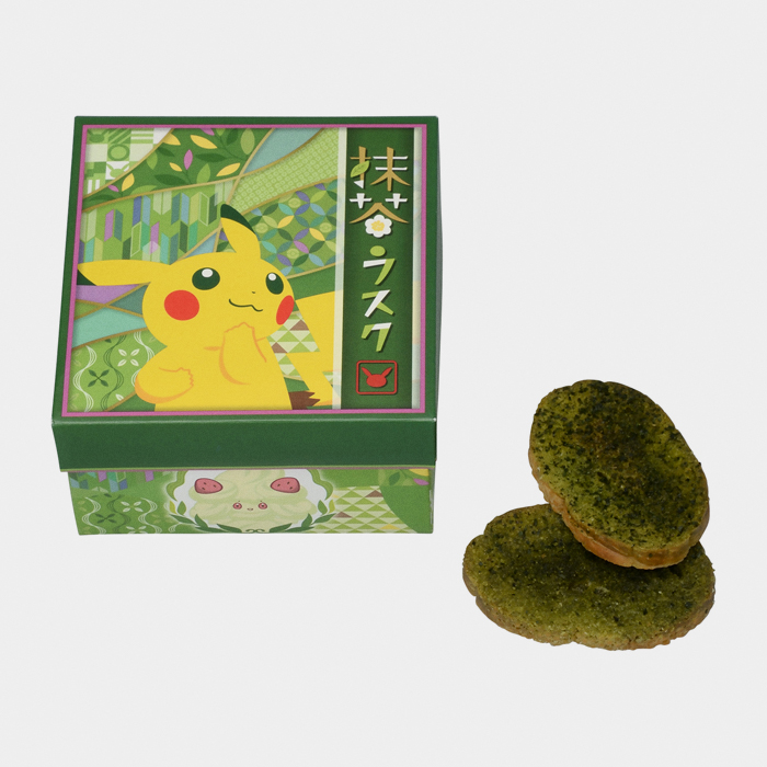 Pikachu & Alcremie Traditional Matcha Cookie Box