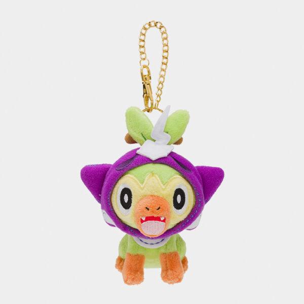 Pokémon Halloween 2020 Grookey Keychain Plush
