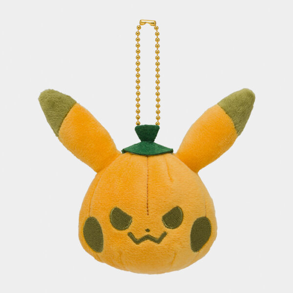 Pokémon Center Halloween 2020 Pikachu Pumpkin Keychain Plush