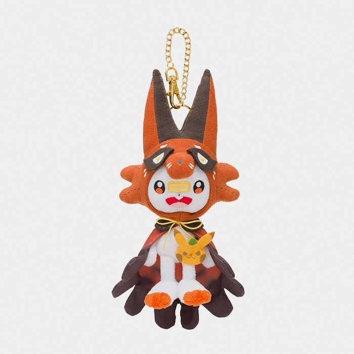 Halloween Pokemon Plushes Japan 2020 Pokémon Halloween 2020 Scorbunny Keychain Plush | Something Japanese