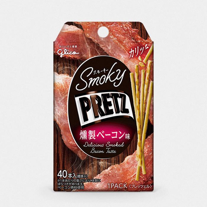 Japanese Smoky Bacon Pretz