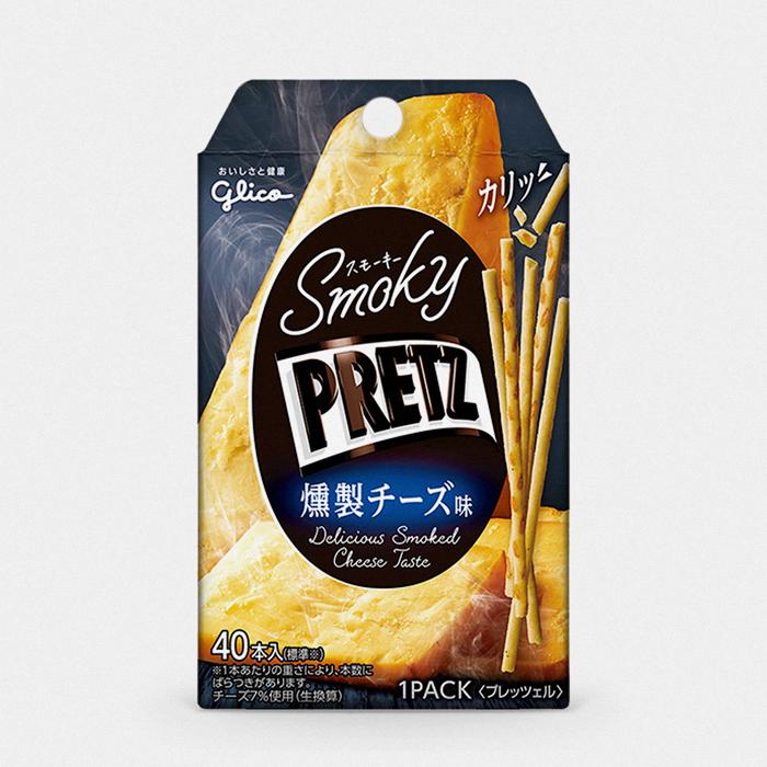 Japanese Smoky Cheese Pretz