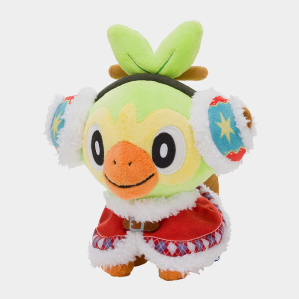 Pokémon Christmas 2020 Grookey Plush