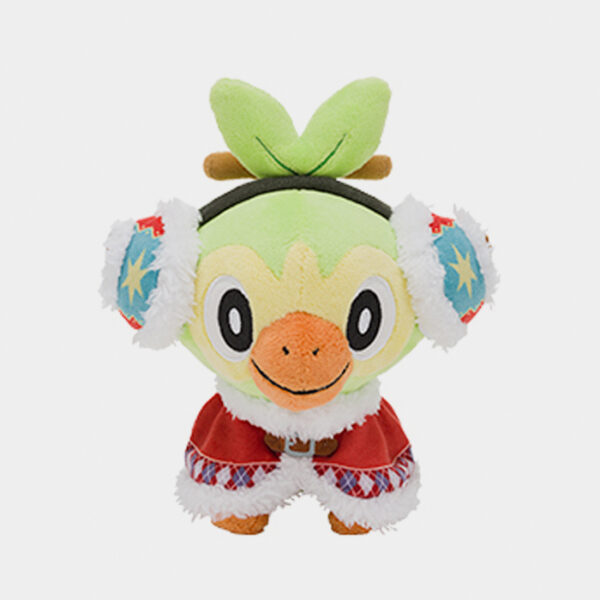 Pokémon Center Christmas 2020 Grookey Plush