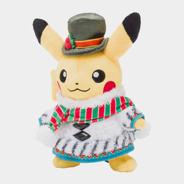 Pokémon Christmas 2020 Pikachu Plush